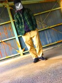 「30/2 USED TOUCH SHAGGY CHECK SHIRT:チェックシャツ(The DUFFER of ST.GEORGE)」 using this Taka looks
