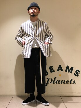ビームス 阿倍野|Yoshihito Hayashiさんのチノパンツ「【Begin5月号掲載】BEAMS PLUS / 2プリーツ チノパンツ(BEAMS PLUS|ビームスプラス)」を使ったコーディネート