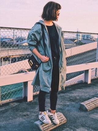 「ハラコフラップショルダーバッグ【PLAIN CLOTHING】(PLAIN CLOTHING)」 using this natsupoo looks