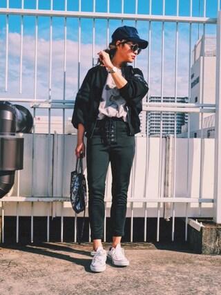 「オリジナルス トラックトップジャージ [NY TREND SS TT](adidas)」 using this natsupoo looks
