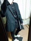 メガネ。さんの「スーツ生地 テーラードジャケット ブレザー(8(eight)|エイト)」を使ったコーディネート