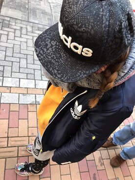 あいさんの(adidas|アディダス)を使ったコーディネート