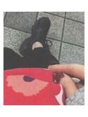 Uさんの「Unikko / Eevi cosmetic bag(marimekko|マリメッコ)」を使ったコーディネート