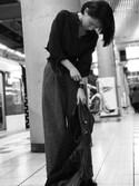 satocoさんの「【6/10ヒルナンデスご紹介商品】フェイクレザー/バングル-2016SS-(INGNI|イング)」を使ったコーディネート
