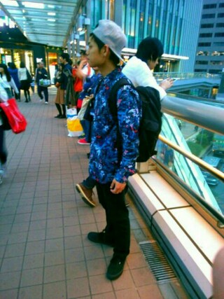 「RVCA メンズ キャップ(RVCA)」 using this TOMMY looks