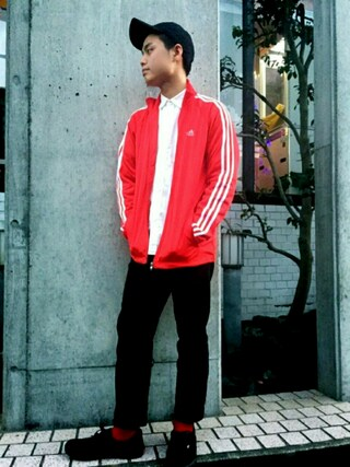 「NIKE ツイルキャップ(NIKE)」 using this TOMMY looks
