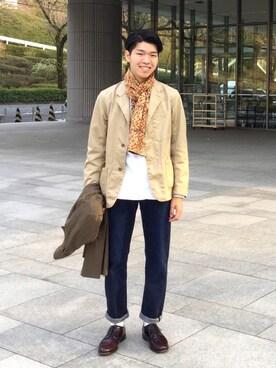 RYUMAさんの(The Permanent Wear by Inpaichthys Kerri|パーマネントウェア バイ インパクティスケリー)を使ったコーディネート