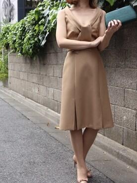 THE DRESS THEDRESSさんの(miu miu ミュウミュウ)を使ったコーディネート