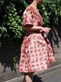 THEDRESSさんの「Vintage Styler  ジオメトリックエナメルクラッチバッグ(Vintage Styler)」を使ったコーディネート