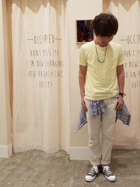 coenららぽーと磐田店|ポメたろう。【coen】さんの(coen|コーエン)を使ったコーディネート