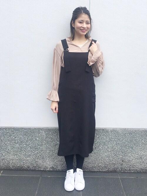 YUKO☆さんの「スパンコールタンクトップ(Discoat Parisien WOMENS)」を使ったコーディネート