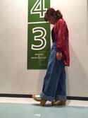 ORientalTRaffic 名古屋パルコ店さんの「春夏新作★コルクミュールサンダル★7210(ORiental TRaffic オリエンタルトラフィック)」を使ったコーディネート