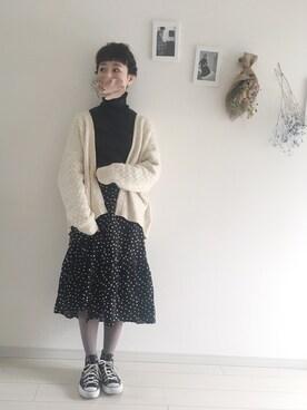 工藤春佳さんのコーディネート