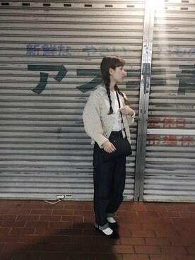 工藤春佳さんの(KBF+|ケービーエフプラス)を使ったコーディネート