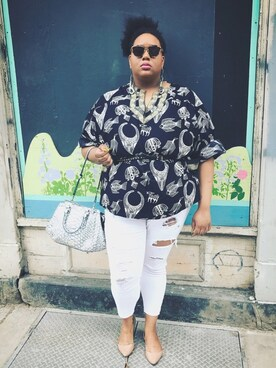 (OLD NAVY) using this Imani Alicia Smith looks