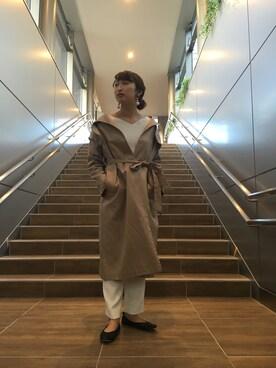ADAM ET ROPE'   エスパル仙台|reinaさんの(Traditional Weatherwear|トラディショナルウェザーウェア)を使ったコーディネート