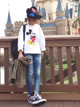 ☻おまゆさんの(Disney|ディズニー)を使ったコーディネート