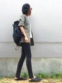 ☻おまゆさんの「カラーレスミリタリージャケット(TODAYFUL|ザラ)」を使ったコーディネート