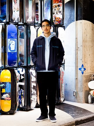 EYESCREAM.JPさんの「Diaspora Skateboards」を使ったコーディネート