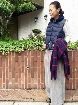 JOURNAL STANDARD 神戸店|Kawakamiさんの「ワイドコール ワイドパンツ(JOURNAL STANDARD|ジャーナルスタンダード)」を使ったコーディネート