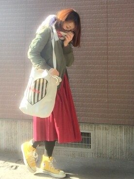 「Converse Chuck Taylor All Star High Top Sneaker(Converse)」 using this オオタリナ looks