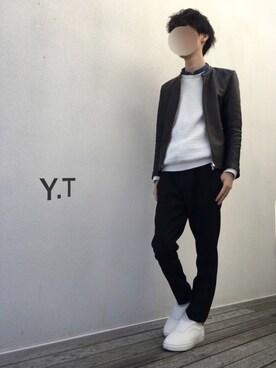 Y.Tさんの(STUDIOUS|ステュディオス)を使ったコーディネート