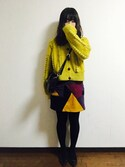 yuikaさんの「ビット2wayクラッチ(MURUA|ムルーア)」を使ったコーディネート