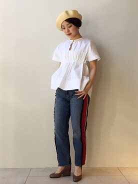 MIDWEST TOKYO WOMEN|mioさんの(KIJIMA TAKAYUKI|キジマ タカユキ)を使ったコーディネート