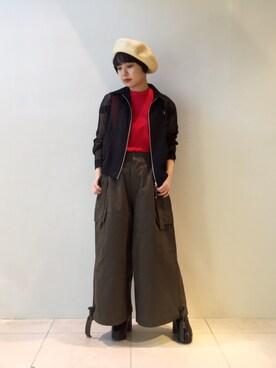 MIDWEST TOKYO WOMEN|mioさんの(JOHN LAWRENCE SULLIVAN|ジョン ローレンス サリバン)を使ったコーディネート