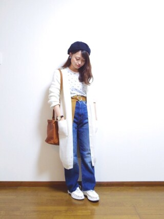 「LEVI'S(R) VINTAGE CLOTHING-1950S 701 ジーンズ(Levi's)」 using this さや looks