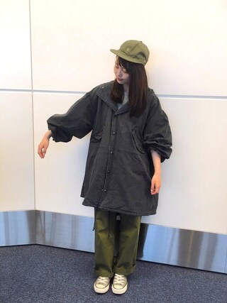 「Sonny Label ワイドカーゴパンツ(URBAN RESEARCH Sonny Label)」 using this さや looks