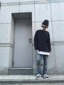 shintaro itoさんの「ADSR/エーディーエスアール/REICH(A.D.S.R.|エーディーエスアール)」を使ったコーディネート