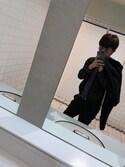 いいおのりょっさん☆さんの「MEN ストレッチウールジャケット(ユニクロ|ユニクロ)」を使ったコーディネート