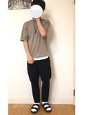 kazuさんの「WEGO/レザーロングリングネックレス(WEGO ウィゴー)」を使ったコーディネート