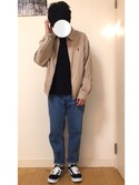 kazuさんの「VANS ヴァンズ OLD SKOOL DX オールドスクール DX V36CL+ BLACK(VANS|バンズ)」を使ったコーディネート