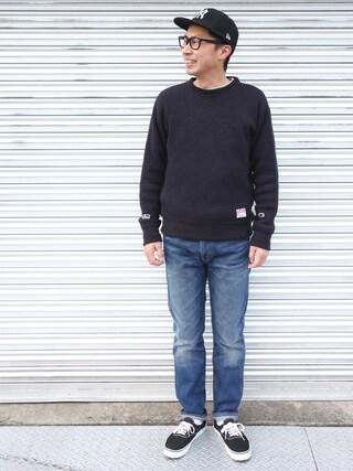 tatsuya さんの「LEVIS VINTAGE CLOTHING/リーバイスヴィンテージクロージング: 1969 606 JEAN(Levi's リーバイス)」を使ったコーディネート