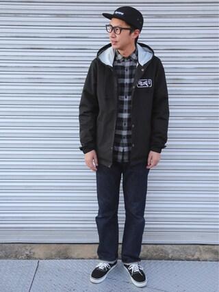 tatsuya さんの「LEVIS VINTAGE CLOTHING-501XX 1947モデル-リンス(LEVI'S VINTAGE CLOTHING|リーバイス・ビンテージ・クロージング)」を使ったコーディネート