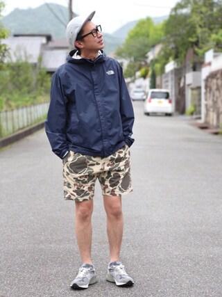 tatsuya さんの「◇THE NORTH FACE DOT SHOTジャケット(THE NORTH FACE|ザノースフェイス)」を使ったコーディネート