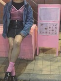 (FOREVER 21) using this ミナミ looks