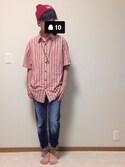 syunさんの「BEN DAVIS cotton KNIT CAP(BEN DAVIS|ベンデイビス)」を使ったコーディネート