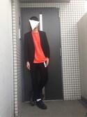 だいち@就活中さんの「MEN ストレッチウールジャケット(ユニクロ|ユニクロ)」を使ったコーディネート