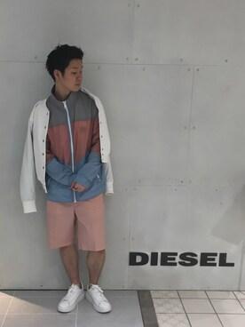DIESEL ルミネエスト新宿|ノグチ👖🔥さんの(DIESEL|ディーゼル)を使ったコーディネート