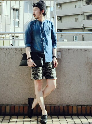 「HERSCHEL / ハーシェル : QUARTZ(CLASSIC) / ニットキャップ(JOURNAL STANDARD)」 using this MasaakiOoue looks