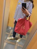 enri yamadaさんの「TAILOR TOYO×BEAMS BOY / スカ刺繍 バスクシャツ(BEAMS BOY|ビームスボーイ)」を使ったコーディネート