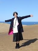 sayaka さんの「プリーツスカート(LE CIEL BLEU|ルシェルブルー)」を使ったコーディネート