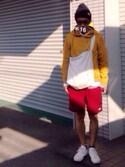 Lさんの「【一部予約】ビーミング by ビームス / ネップフライスタンクトップ(B:MING by BEAMS|ビーミング バイ ビームス)」を使ったコーディネート