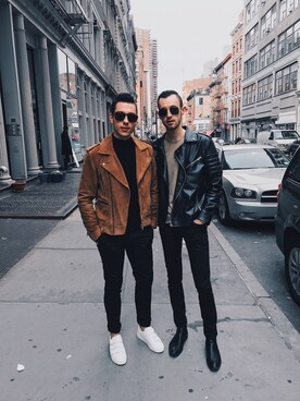 (H&M) using this Alex & Mike looks