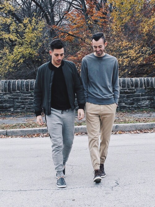 「American Eagle Outfitters AE Active Flex Fleece Jogger(AMERICAN EAGLE OUTFITTERS)」 using this Alex & Mike looks
