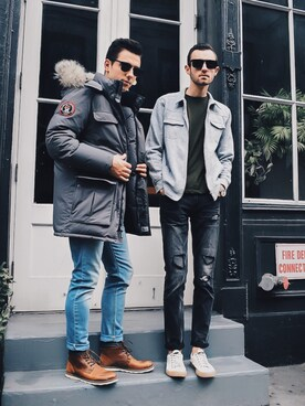 Alex & Mike looks