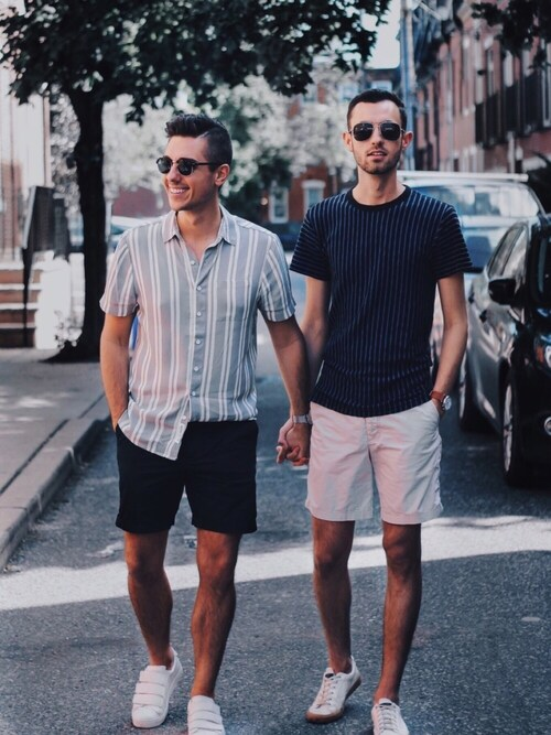 「rag & bone Geo Print T-Shirt(Rag and Bone)」 using this Alex & Mike looks